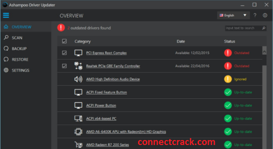 Ashampoo Driver Updater 1.5.0 Crack With License Key 2021 Free