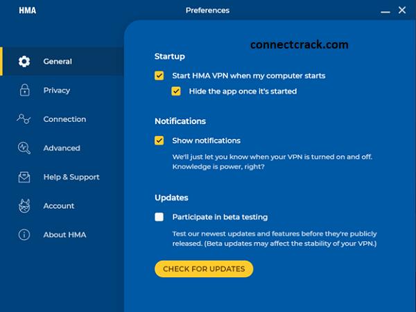 HMA Pro VPN 5.1.259 Crack With License Key 2021 [Latest] Free