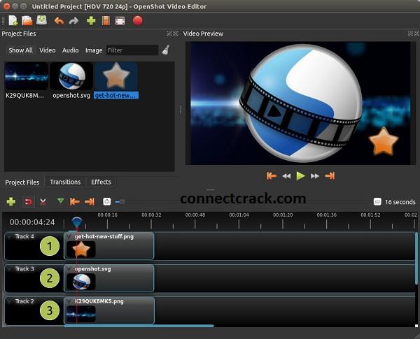 OpenShot Video Editor 2.5.1 Crack [Latest] Full Free Download