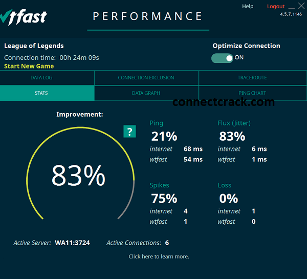 WTFAST 4.16.0.1903 Crack With Activation Key 2021 Free Download