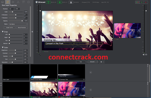 Wirecast Pro 14.1.1 Crack With Serial Number 2021 [Latest] Free