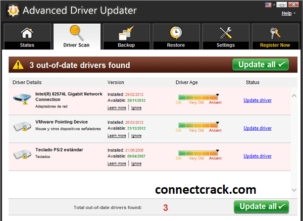 Advanced Driver Updater 4.5.1086 Crack With License Key Free Download 2021