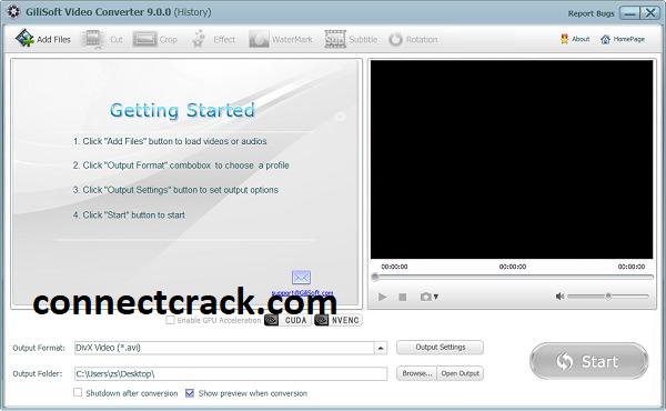 GiliSoft Video Converter 11.1.0 Crack 2021 [Latest] Free