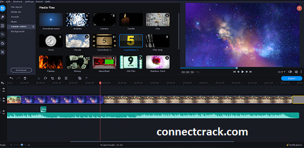 Movavi Video Editor Plus 21.2.1 Crack With Activation Key 2021 Free